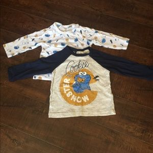 H&M Cookie Monster Shirts